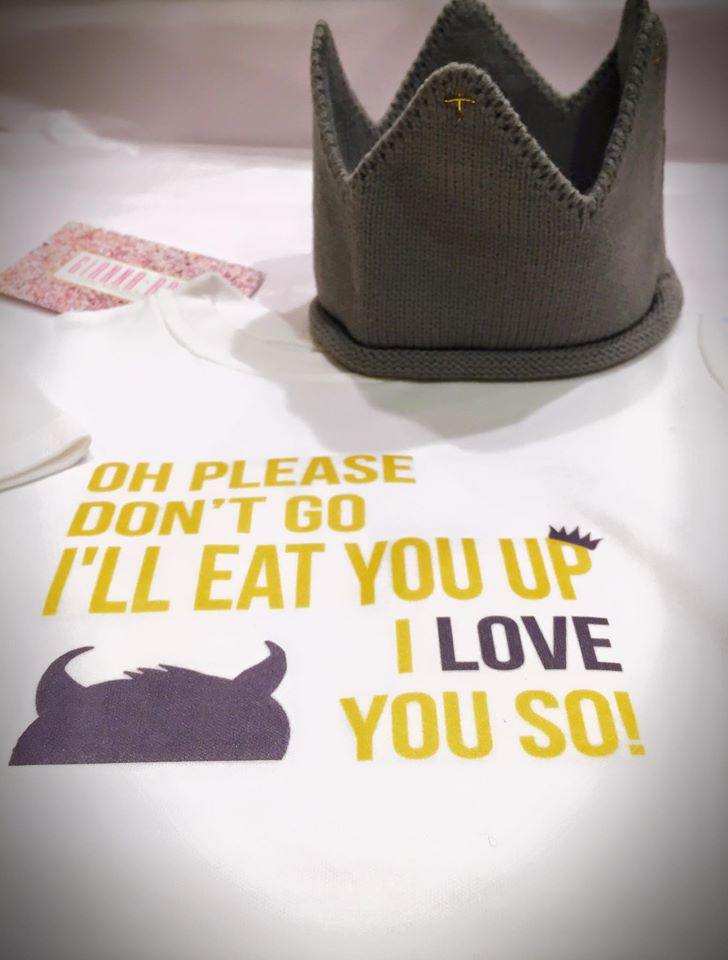 I'll eat you up, I love you so - SET w/Crown