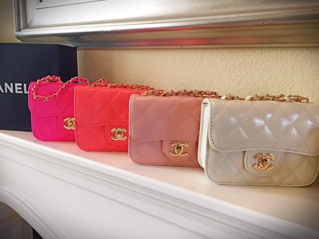 Candy & Caviar Purses - Candy Color