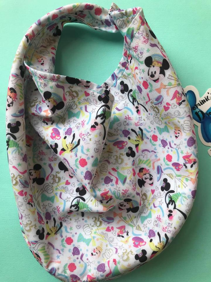 Special Edition - Disneyland Inspired Celebration Drool Bandana Bib