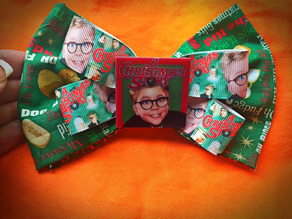 A Christmas Story Ralph Fabric Bow