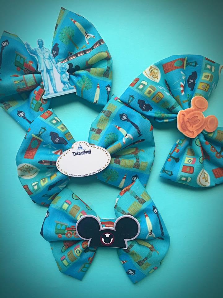 Disneyland Landmarks Bow