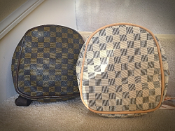 Designer Inspired Mini Damier Kids Backpack
