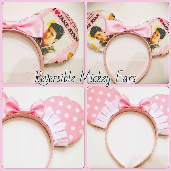 Custom Micley Ears - 16 Candles Inspired I LOVE JAKE RYAN