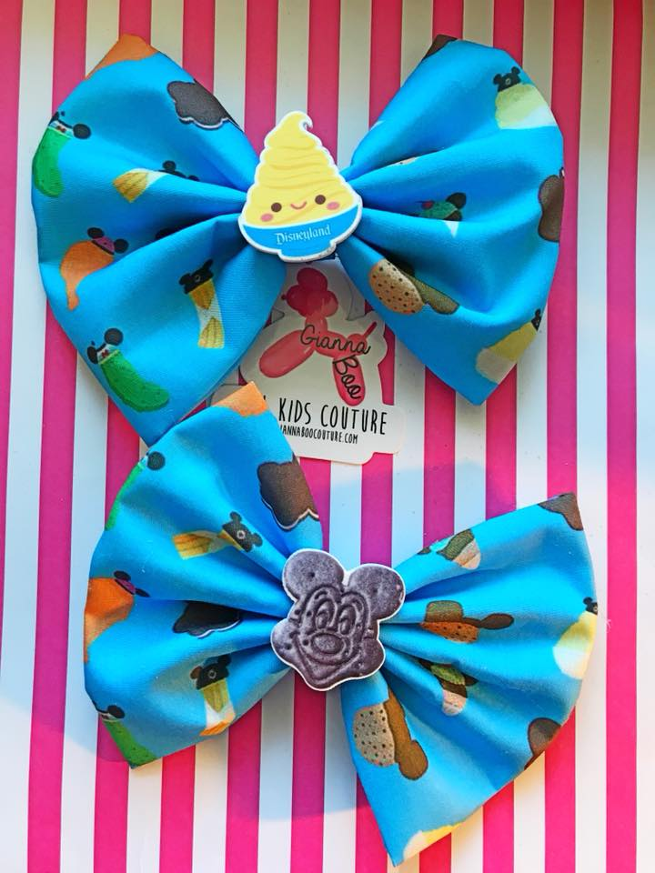 Disney Snacks V2 - Blue Hair Bow
