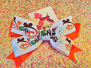 Disneyland Halloween Bow