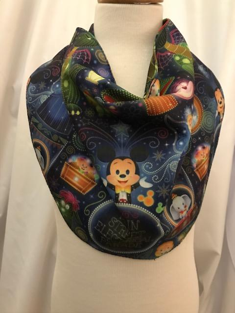 Main Street Electric Parade Inspired Drool Bib Bandana 12M-24M