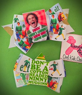 Buddy the ELF Bow - You choose
