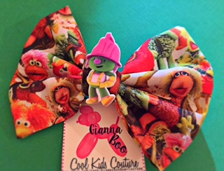Fraggle Rock (COTTON) bow - Limited Edition