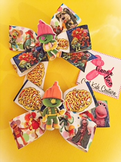 Fraggle Rock Ribbon Bow