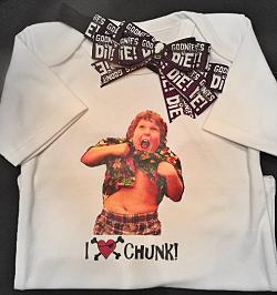 Goonies Inspired Truffle Shuffle Shirt Set
