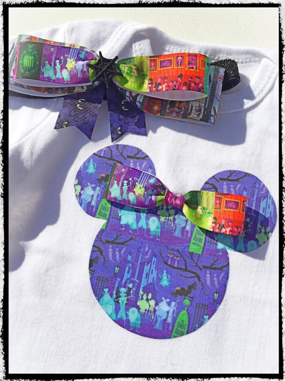 Disney Inspired Haunted Mansion Shirt Set
