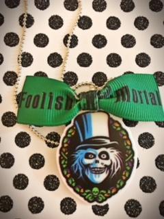 Disneyland Haunted Mansion, Hatbox Ghost Necklace