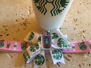 Mommy's Coffee Date Headband Bow