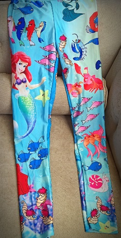 Mommy Little Mermaid Pants (One Size)