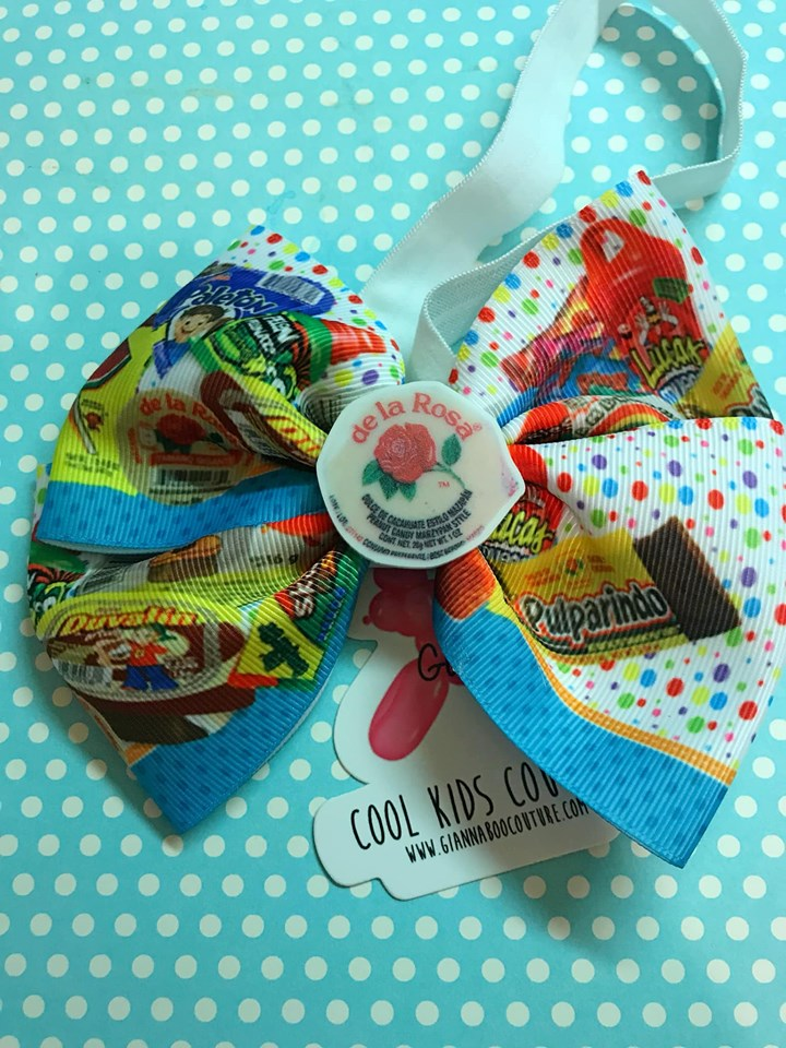Mexican Candy Headband Hair Bow - Infant