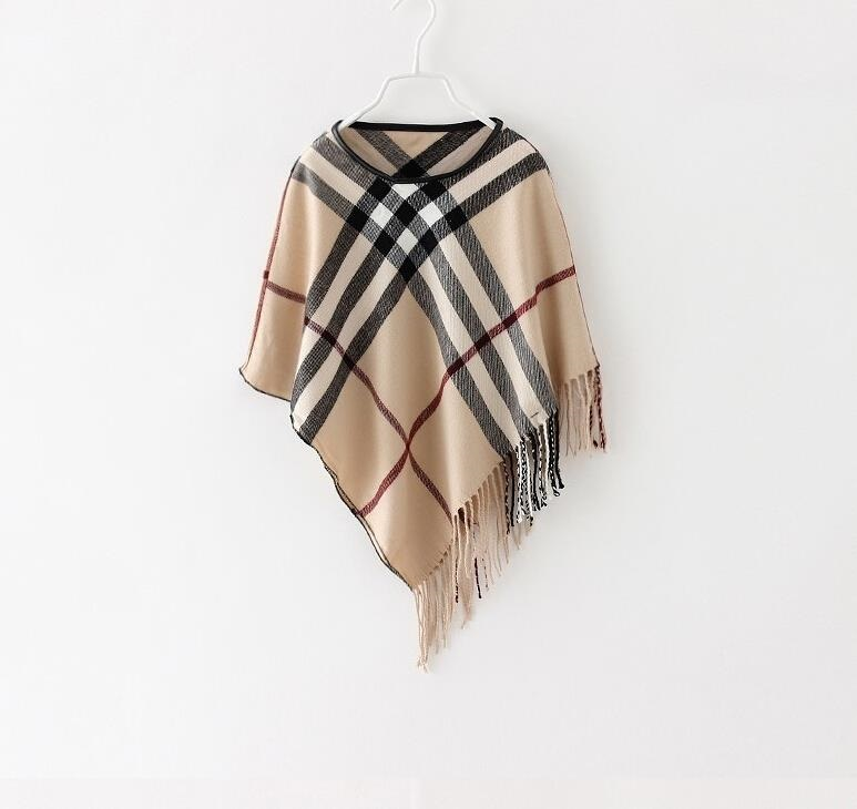 GiannaBoo Designer Inspired Kids Poncho (Last One Left)