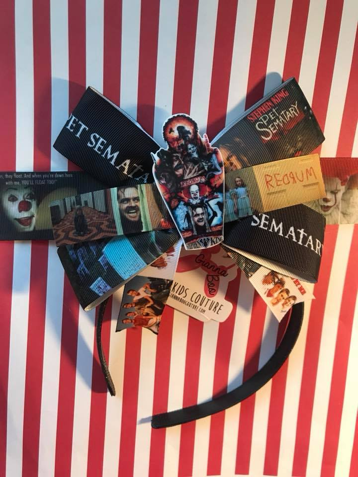 EXCLUSIVE - The Best of Stephen King Headband Bow