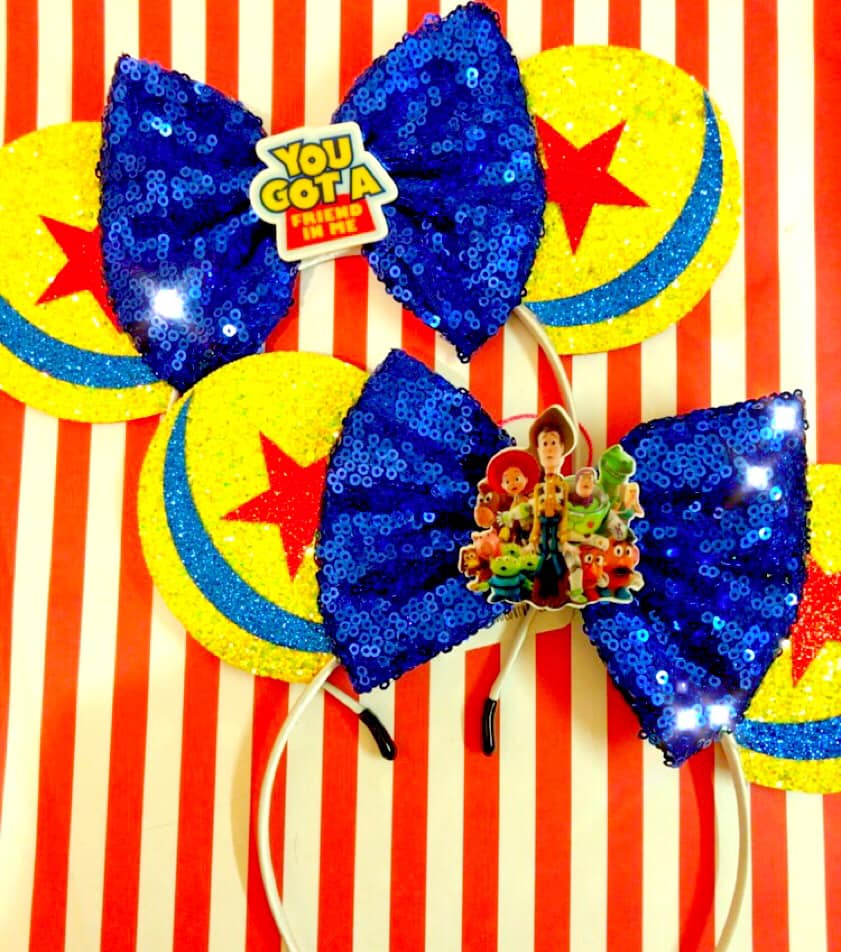 Toy Story Inspired Mouse Ears - You choose