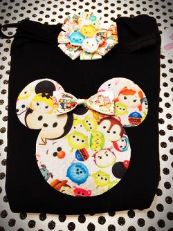 Mickey Head Tsum Tsum shirt SET