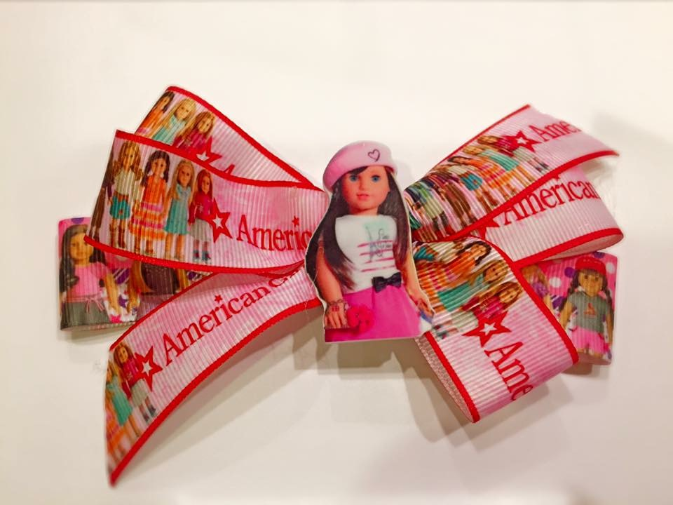 American Girl Doll Inspired Bow