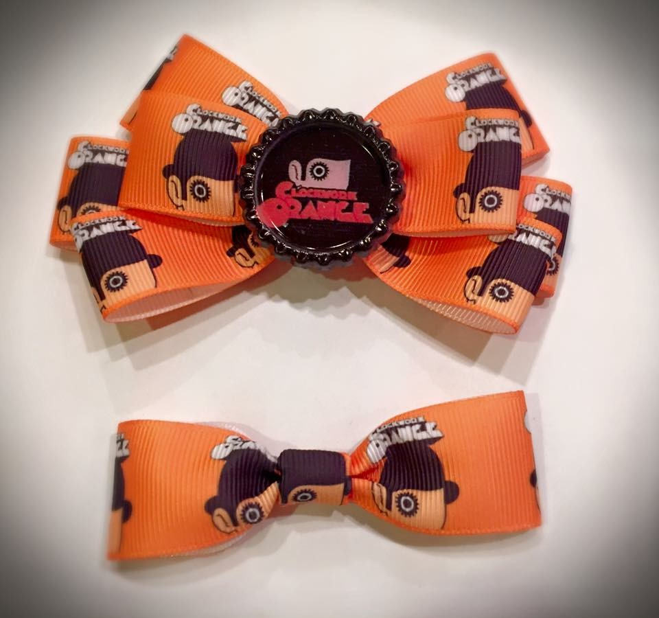 Clockwork Orange Inspired Bow