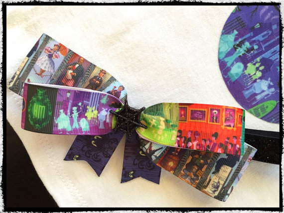 Disney Haunted Mansion Headband Bow