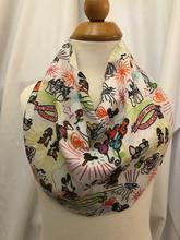 Disneyland Inspired Sketch Fabric Drool Bib Bandana 12M-24M